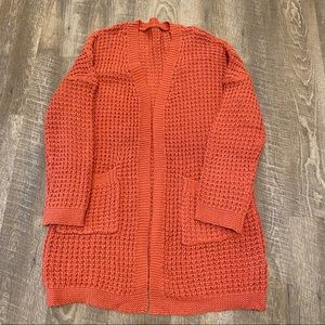 Coral Mid-weight Cardigan